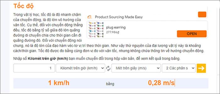 Chi-tiet-cach-doi-1km/h-bang-bao-nhieu-m/s-qua-google